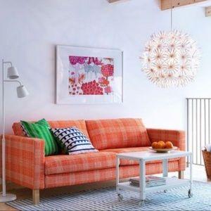 Superb Ikea Karlstad Loveseat Cover Slipcover Orange Nwt Evergreenethics Interior Chair Design Evergreenethicsorg
